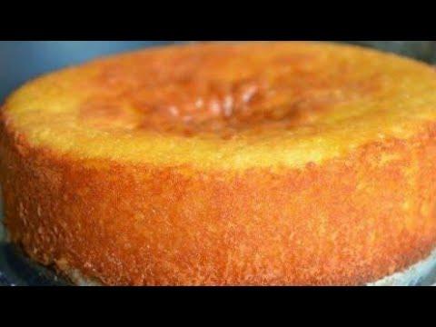 طريقة عمل الكيكة الاسفنجية بالبرتقال بطريقة سهلة و بسيطة