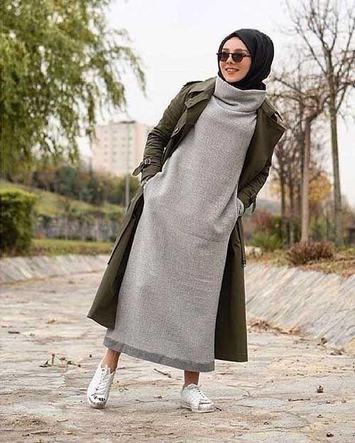 أزياء و ملابس حريمى للمحجبات كاجوال أحدث صيحة لعام 2021